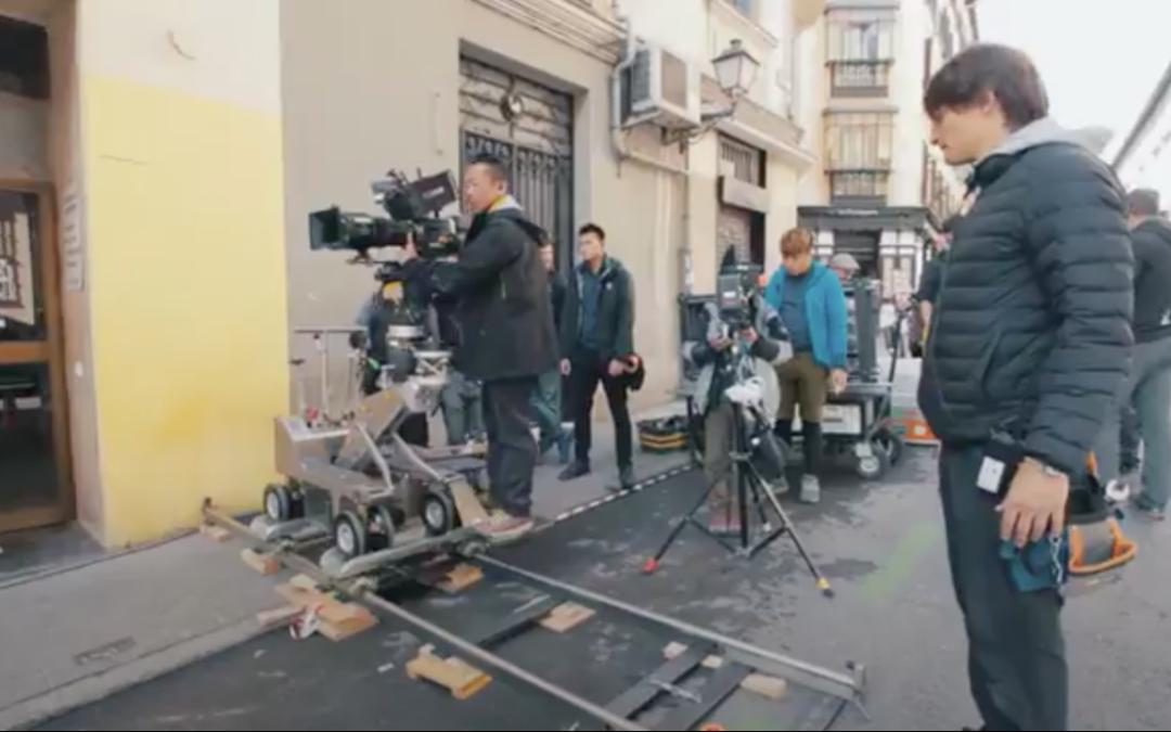 """El Telar Rigging con """"City of Madrid Film Office"""""""