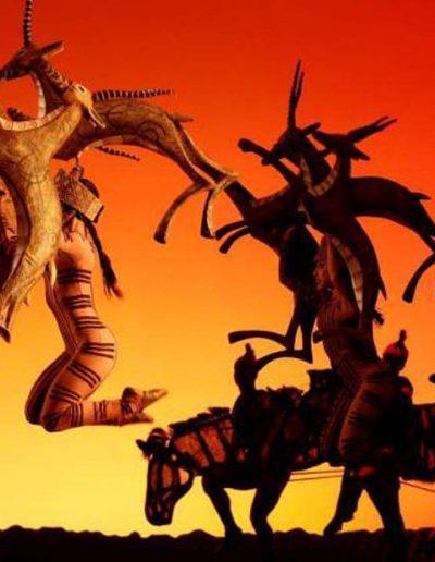 El Telar Rigging montaje escenografía El Rey León