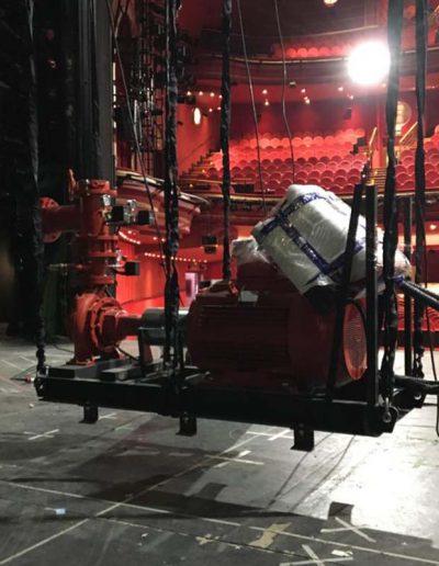 EL TELAR RIGGING asistencia rigging desmontaje, proudcción Anastasia