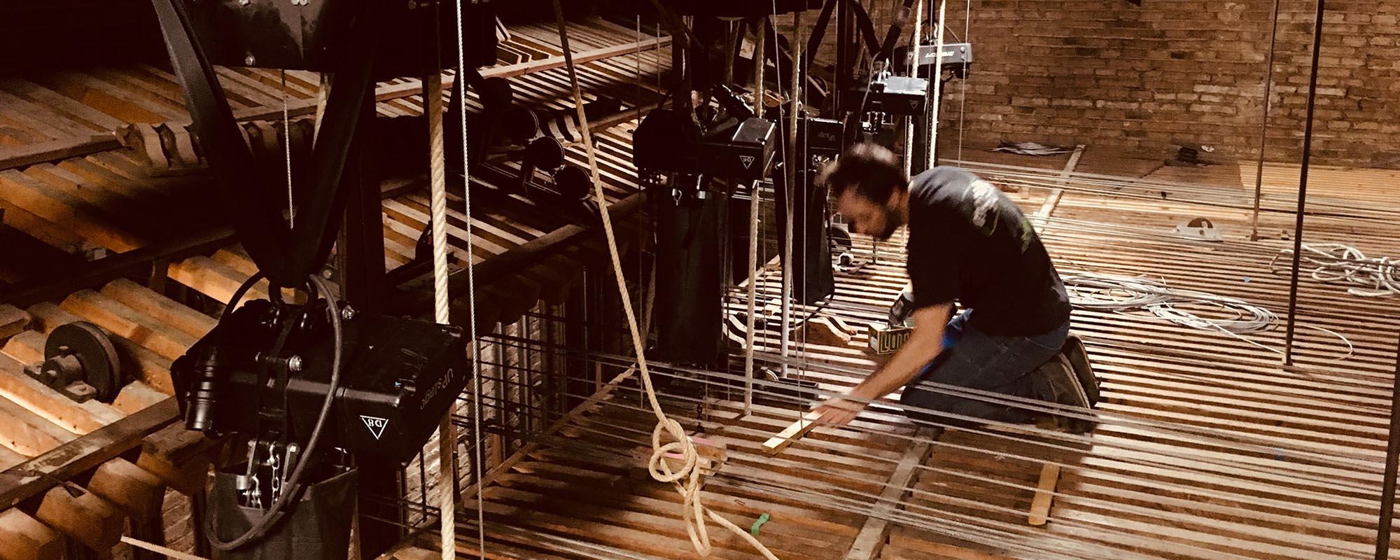 El Telar Rigging alquiler rigging teatral